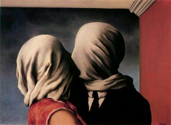 beso los amantes