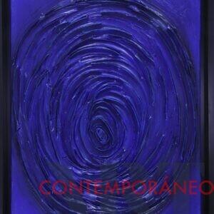 Huella En Azul